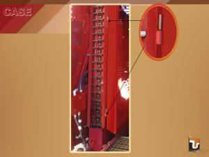 Dobradiças e Taliscas do Elevador - Máquinas Case