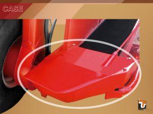 Modificação do Bico das Esteira - Máquinas Case